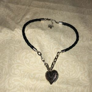 Jewelry - Necklace with heart shaped locket